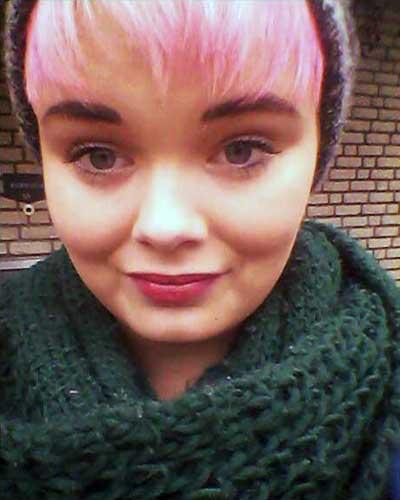 Haare pink färben